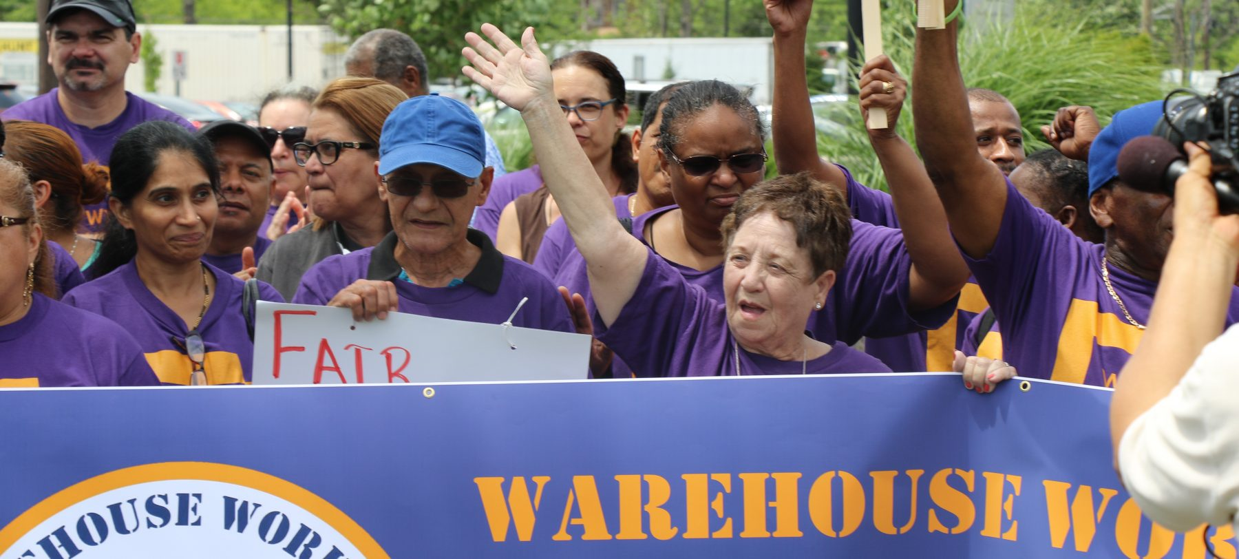 Warehouse Workers Standup